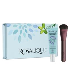 Rosalique 3 i 1 Anti-Rødme Creme og Miracle Foundation Brush Gaveæske