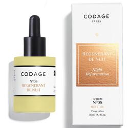 Codage Serum  No 08 night rejuvenation, 30ml.