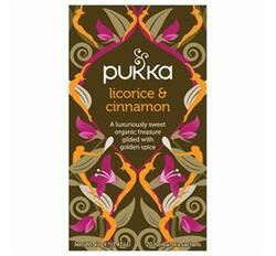 Pukka te Licorice & Cinnamon Ø 20 breve
