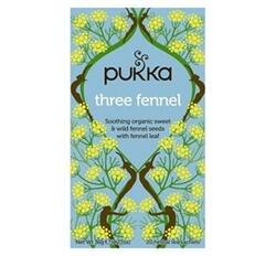 Pukka Te Three Fennel Ø, 20breve