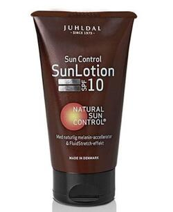 Juhldal SunLotion faktor 10 - 150ml.