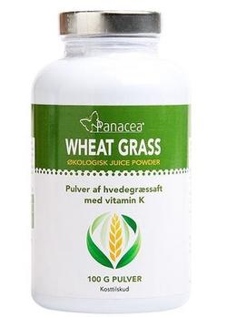 Wheat grass juice powder, 100g.