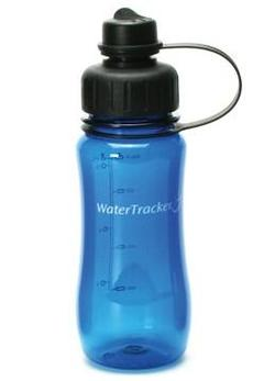 WaterTracker Navy Blue drikkedunk, 0,5l.