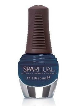 SpaRitual Neglelak mini himmelblå crystal eyes, 5ml.
