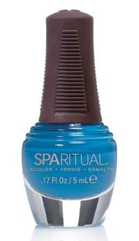 SpaRitual Neglelak mini turkisblå sky´s the limit, 5ml.