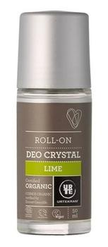 Urtekram deo crystal lime, 50ml.