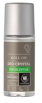 Urtekram deo crystal roll on eucalyptus, 50ml.
