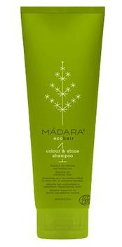 MÁDARA colour & shine shampoo, 250ml.