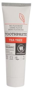 Tandpasta m. tea-tree u. fluor, 75ml.