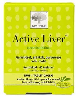 Active liver, 60tab.
