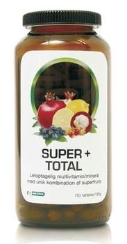 Super+ total Multivitamin,mineral 150tab.