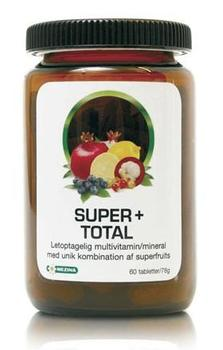 Super+ total Multivitamin/mineral, 60tab.