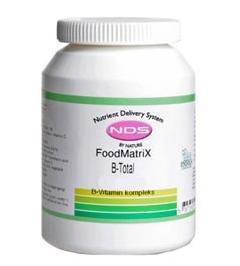 NDS B-Total Vitamin, 500tab.