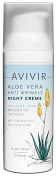 AVIVIR AloeVera Anti Wrinkle Night Creme, 50ml.
