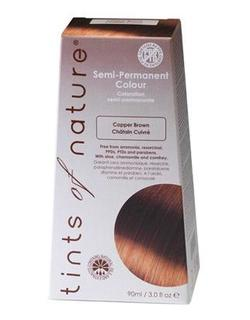 Tints of Nature Hårfarve copper brown semipermanent, 90ml.