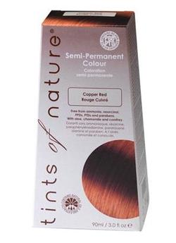 Tints of Nature Hårfarve copper red semipermanent, 90ml.
