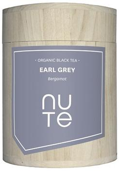 NUTE Earl Grey Tea - sort te Ø, 100g.