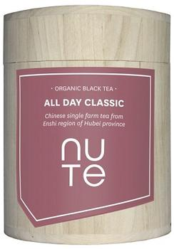 NUTE All day classic - sort te Ø, 100g.