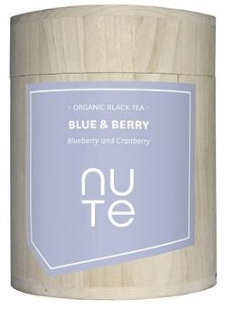 NUTE Blue & Berry - sort te Ø, 100g.