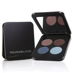 Youngblood Pressed Mineral Eyeshadow Quad Glamour Eyes, 4gr.