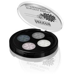 Lavera Beautiful Mineral Quattro Eyeshadow Smokey Grey 01 Trend