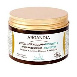ARGANDIA Hamman Black Soap Eucalyptus, 150ml.
