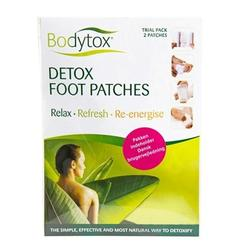 Bodytox Detox foot patches prøvepakke 2 stk.