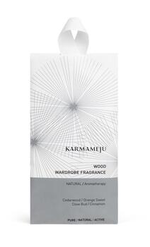 Karmameju wood wardrobe fragrance