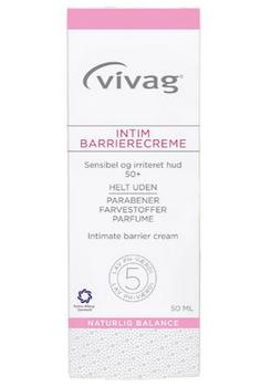Vivag intim barrierecreme, 50ml.