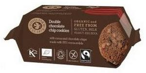 Double Chocolate Cookies Ø, 180g.