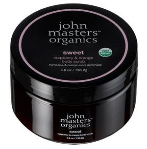 John Masters Bodyscrub Sweet raspberry & Orange, 136g.