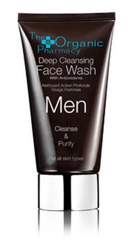 The Organic Pharmacy Men Deep Cleansing Face Wash, 75ml.