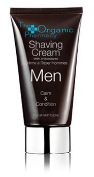 The Organic Pharmacy Men Shaving Cream, 75ml.