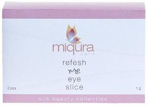 Miqura Care Refresh me eye slice øjenmaske, 2stk.