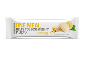 Nupo One Meal Bar Lemon Crunch, 60g. 1stk.