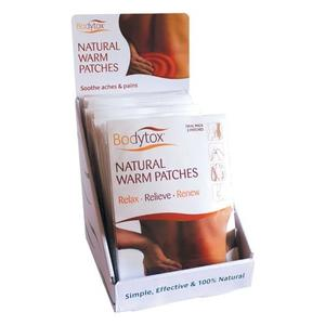Bodytox Natural Warm Patches 2 stk