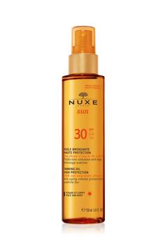 NUXE SUN Tanning Oil Face & Body SPF 30