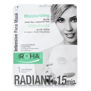 Iroha tissue face mask moisturizing aleo 23ml.