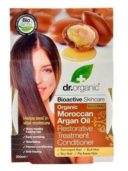 Dr. Organic Hair treatment conditioner Argan 200ml.