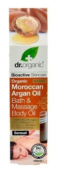 Dr. Organic Massage body bath oil Argan 100ml.