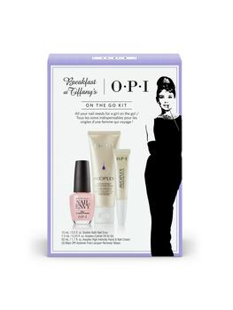 OPI Breakfast at Tiffany's on the go kit.
