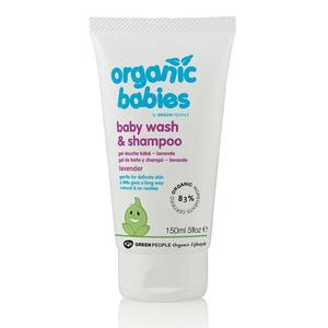 Baby wash og shampoo lavender Greenpeople, 150 ml