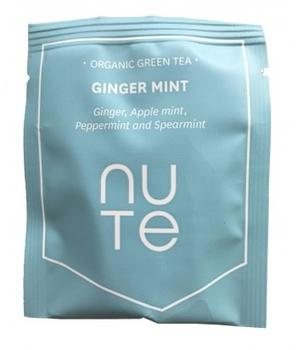 NUTE Green Ginger Mint Teabags 10 stk.