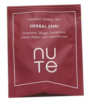 NUTE Herbal Chai Teabags 10 stk.