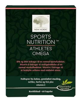 New Nordic Sport Nutrition Athlets Omega 60 kap.