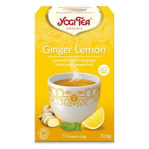 Yogi Tea Ginger Lemon Ø, 17 br