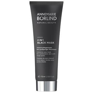 Annemarie Börlind 2 in 1 Black Mask, 75 ml