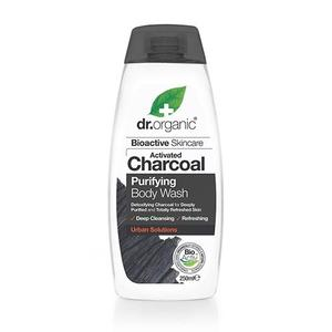 Dr. Organic Body Wash Charcoal Purifying, 250 ml