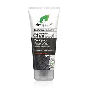 Dr. Organic Face Wash Charcoal Purifying, 200 ml