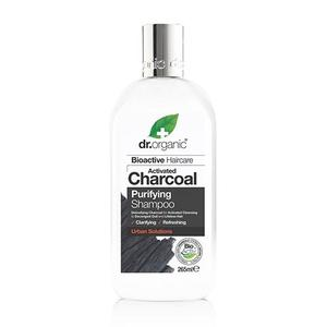 Dr. Organic Shampoo Charcoal Purifying, 265 ml